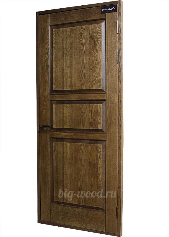 Межкомнатная ламинированная дверь 4с6ф Беленый Дуб